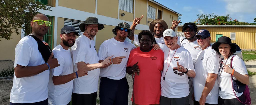 Coaches with Coach Patty Johnson and Coach Sam Nichols
