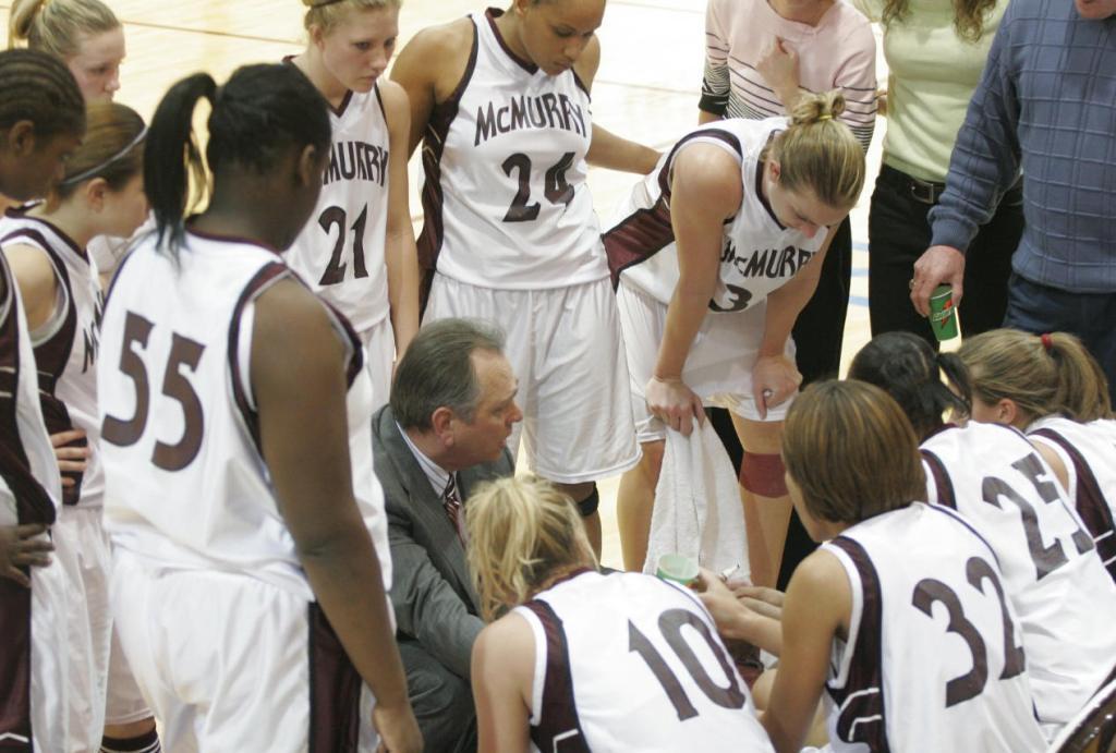 Coach Sam Nichols and his team at McMrry