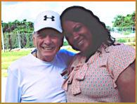 Coach Sam Nichols and Coach Shashonna Smith